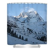 Drifting Snow Shower Curtain