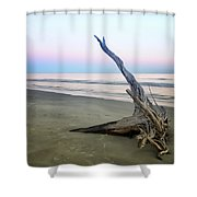 Driftwood At Dusk Shower Curtain