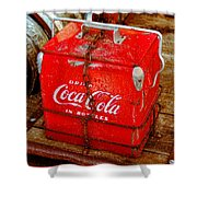 Drink Coke In Bottles Shower Curtain