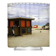 Drink Of The Day - Miami Beach - Florida Shower Curtain
