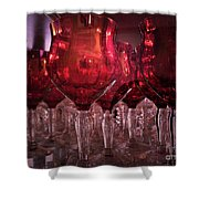Drink Red Shower Curtain