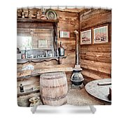 Drinking And Gambling Shower Curtain by Cat Connor