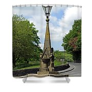 Drinking Fountain - Bakewell Shower Curtain