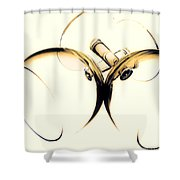Drinks Are On Me Shower Curtain
