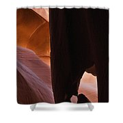 Dripping Cone Shower Curtain
