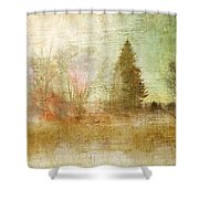 Home Skyline Shower Curtain
