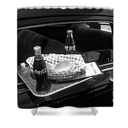 Drive-in Coke And Burgers Shower Curtain