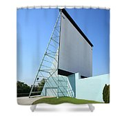 Drive-in Movie Shower Curtain
