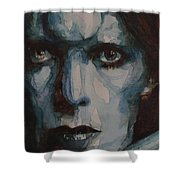 Drive In Saturday Shower Curtain by Paul Lovering
