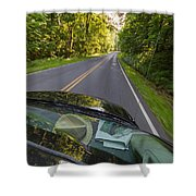 Drive To Vacation Shower Curtain