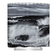 Driven By The Storm Shower Curtain