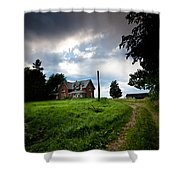 Driveway Home Shower Curtain by Cale Best