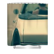 Driving In A Convertible Shower Curtain