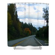 Driving Shower Curtain