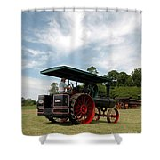 Driving The Engine Shower Curtain