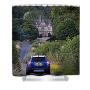 Driving To Manor House Shower Curtain