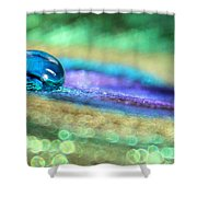 Drop Of Illusion Shower Curtain