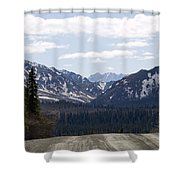 Drop Off Shower Curtain