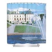 Drottningholm Palace, Stockholm, Sweden Shower Curtain