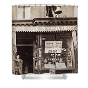 Drugstore, 1890 Shower Curtain