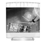 Drum And Sun Shower Curtain