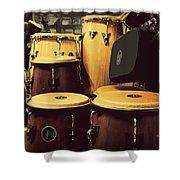 Drum Beat Shower Curtain