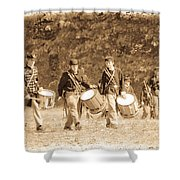 Drummer Boys Shower Curtain