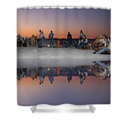 Drummers Circle Shower Curtain