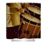 Drummers Shower Curtain