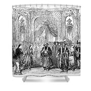 Drury Lane Theatre, 1854 Shower Curtain
