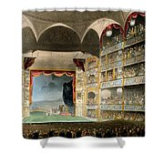 Drury Lane Theater Shower Curtain