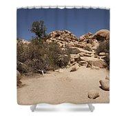 Dry Air Shower Curtain