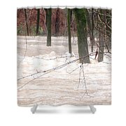 Dry Creek-but Swift Waters Shower Curtain