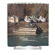 Dry Dock Shower Curtain