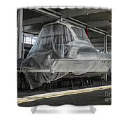 Dry Docked Shower Curtain