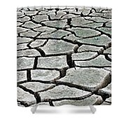 Dry Lake Bed Shower Curtain