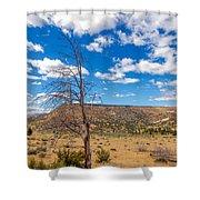 Dry Landscape Shower Curtain
