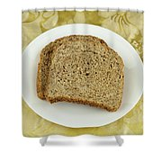 Dry Toast Shower Curtain