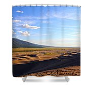 Dry Valley Vista Shower Curtain