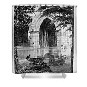 Dryburgh Abbey, 1866 Shower Curtain