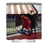 Du Bois Shops, 1922 Shower Curtain