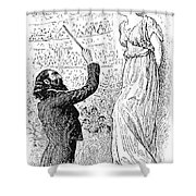Du Maurier: Trilby, 1894 Shower Curtain