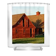 Dual Barns-3811 Shower Curtain