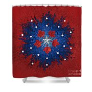 Dual Citizenship 2 Shower Curtain by First Star Art