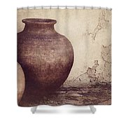 Duality Shower Curtain by Amy Weiss