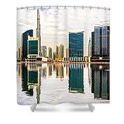Dubai Downtown -  Shower Curtain