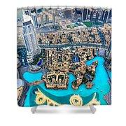 Dubai Downtown - Uae Shower Curtain