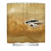 Dubai Safari  Shower Curtain