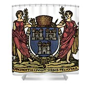 Dublin Coat Of Arms Shower Curtain