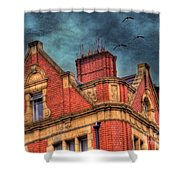 Dublin House Roof Top Shower Curtain